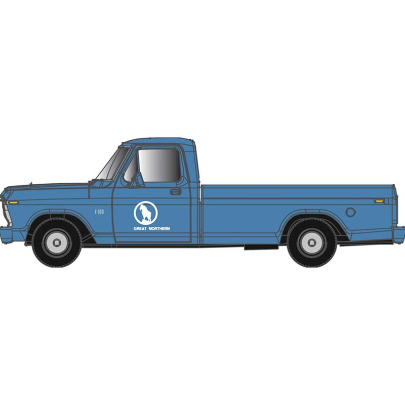 N  F-100 Ford Pick Up Truck Great Northern  (Blue)