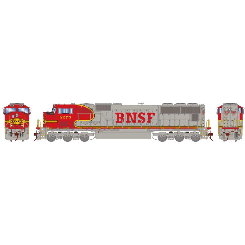 HO SD75M with DCC & Sound BNSF Warbonnet #8275