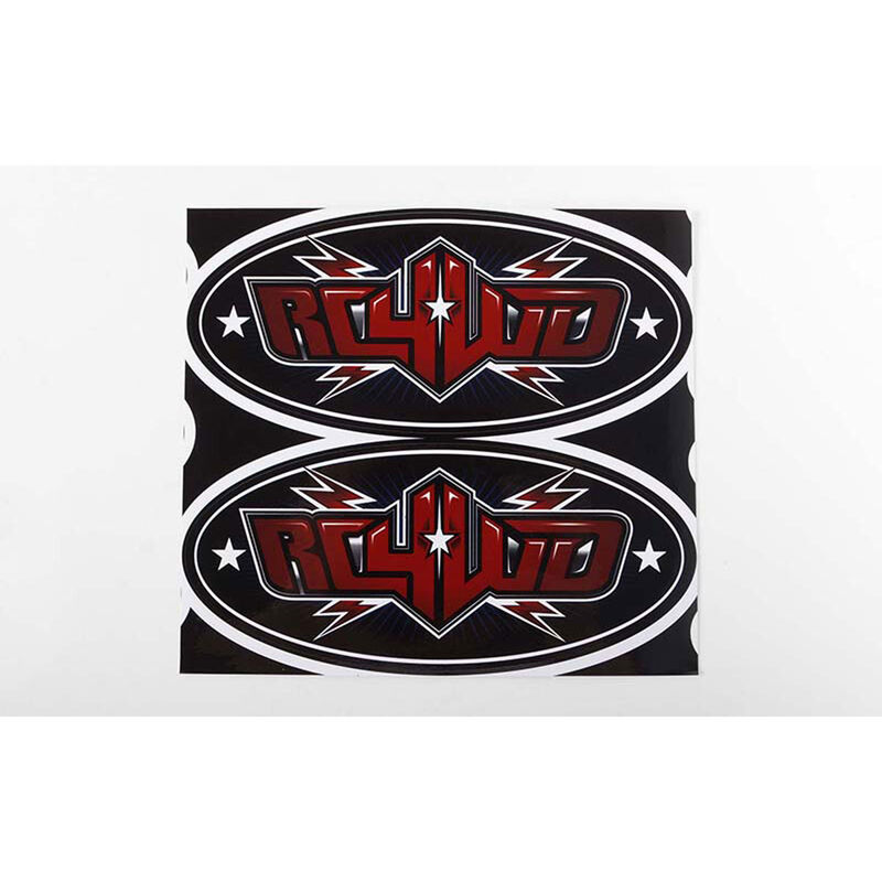 "RC4WD Logo Decal Sheets (6"")"
