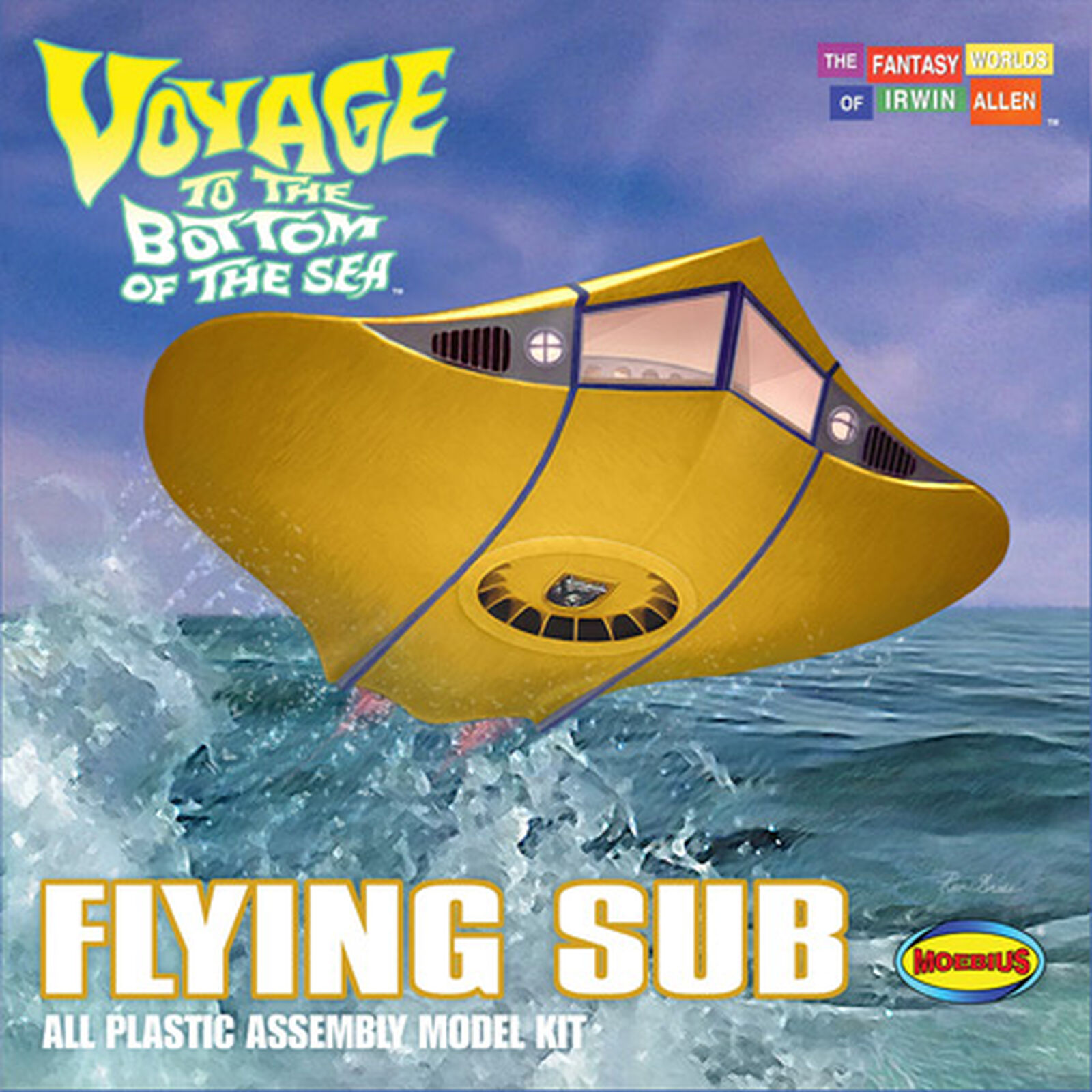 Voyage to the Bottom of the Sea Flying Sub Moebius