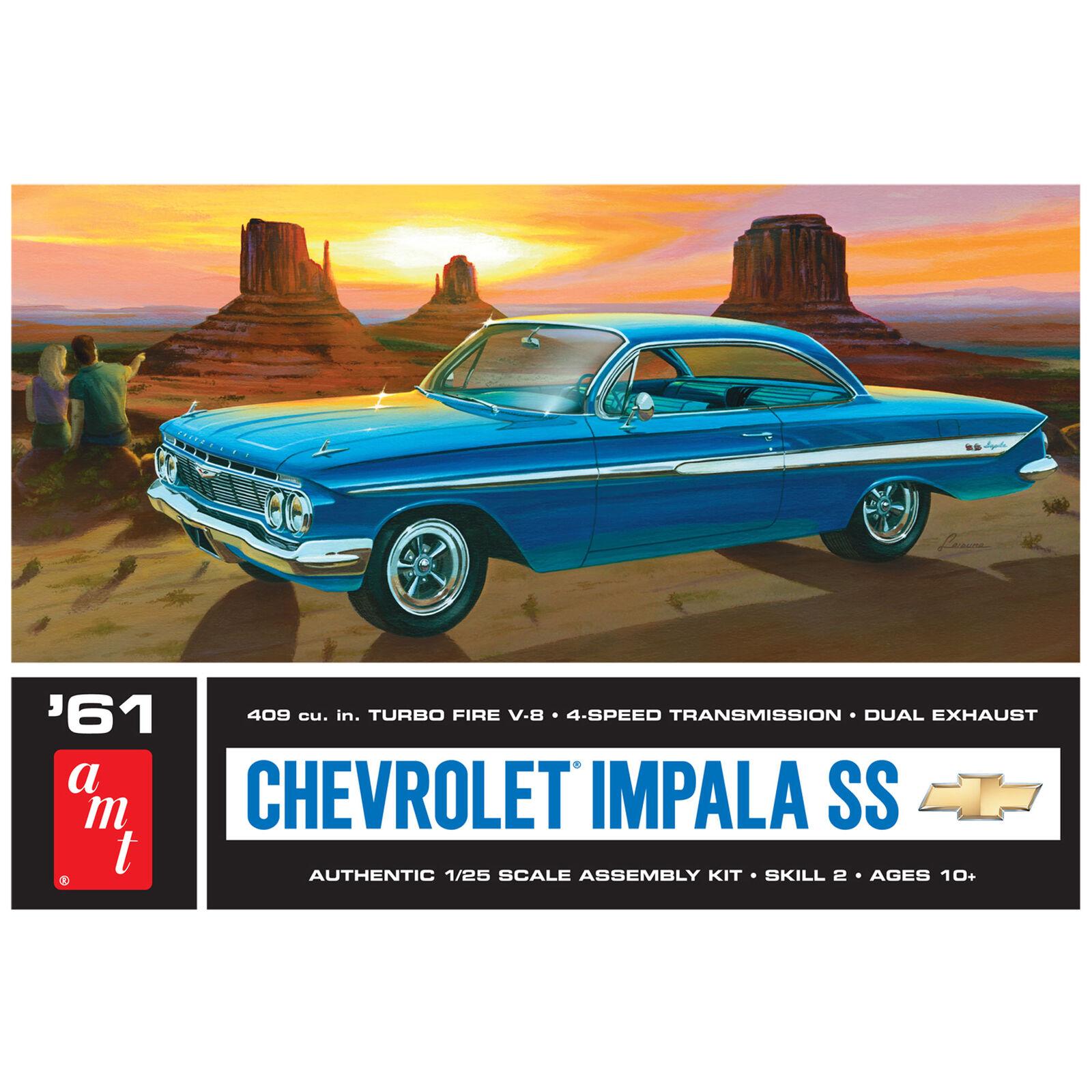 1/25, 1961 Chevy Impala SS, Model Kit