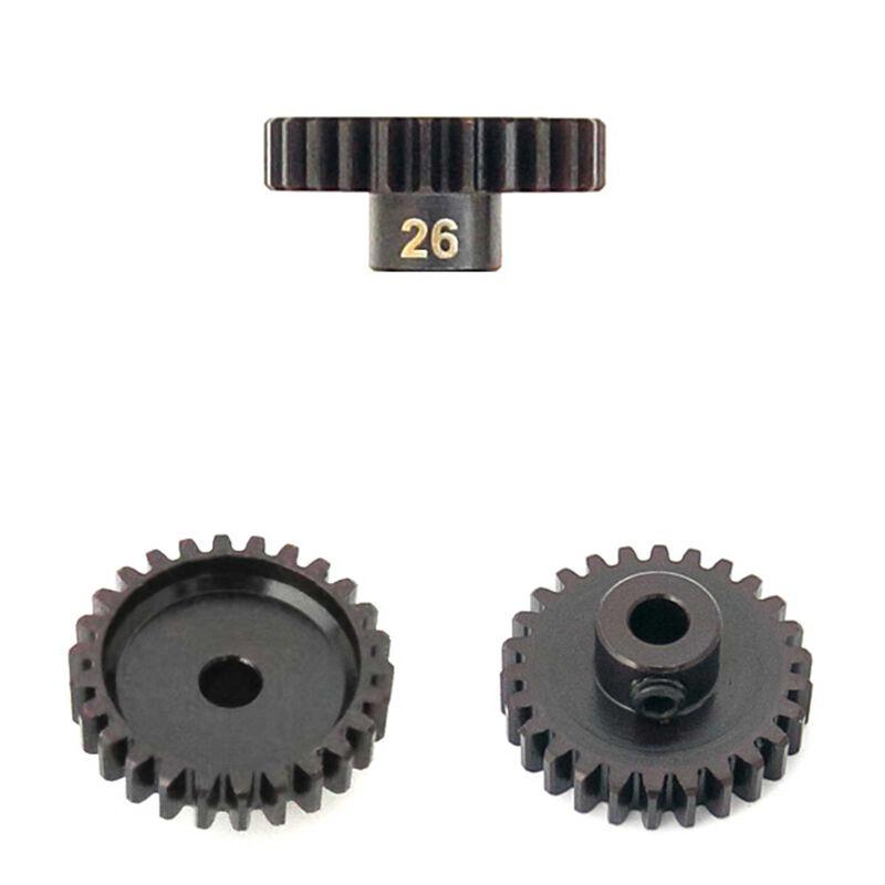M5 Pinion Gear, 26T, MOD1, 5mm Bore, M5 Set Screw