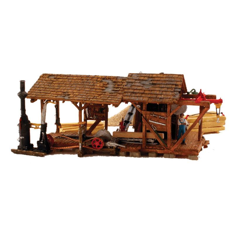 HO B/U Buzz's Sawmill