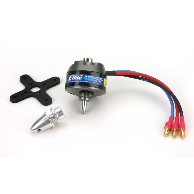 Park 480 Brushless Outrunner Motor, 1020Kv: 3.5mm Bullet