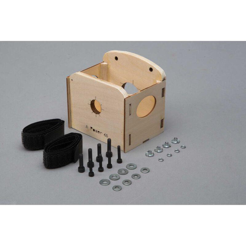 EP Motor Box and Battery Tray: Valiant 10cc
