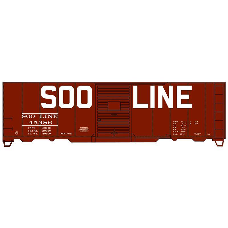 HO 40' Single Door Steel Box, SOO