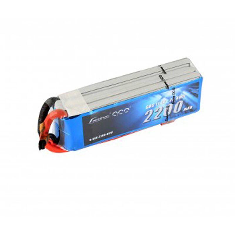 11.1V 2200 Capacity 3S Voltage 60C LiPo, Deans