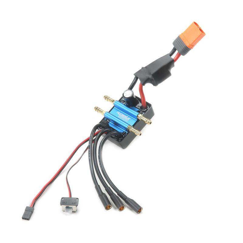 120A BL Marine ESC 2-6S Single Connector