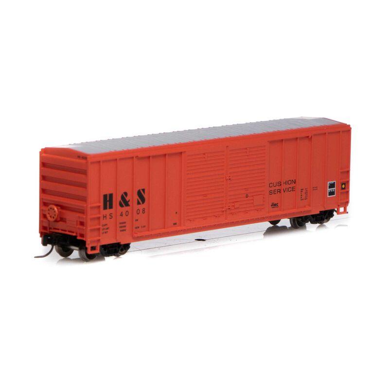N 50' FMC Centered Double Door Box H&S #4008
