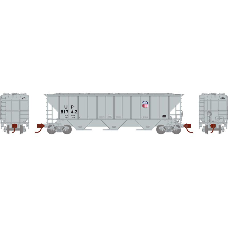 N PS 4427 Covered Hopper UP Shield #81742