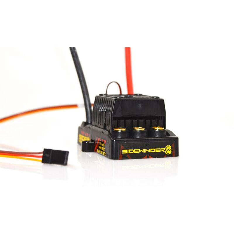 1/8 Sidewinder 25.2V 8A Peak BEC Waterproof ESC