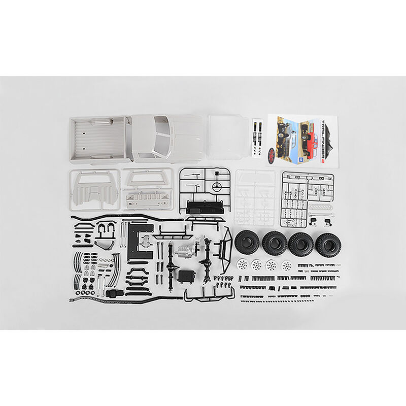 1/10 Trail Finder 2 4WD Truck Kit, Mojave II Body