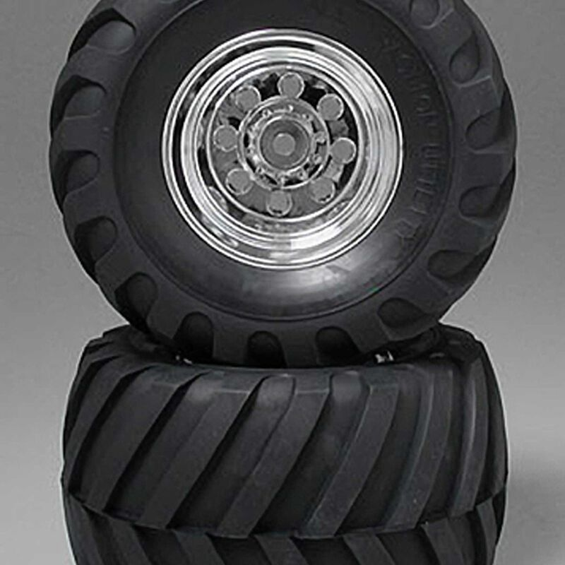 Rear Wheel & Tire: Wild WillyII