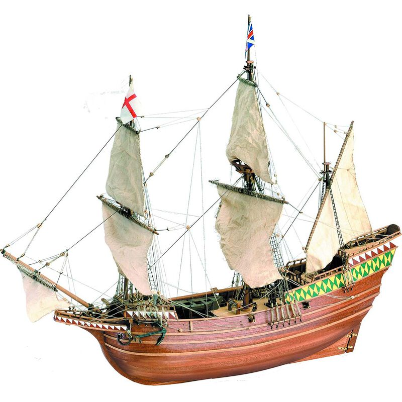 1/64 Mayflower Wooden Model Ship Kit