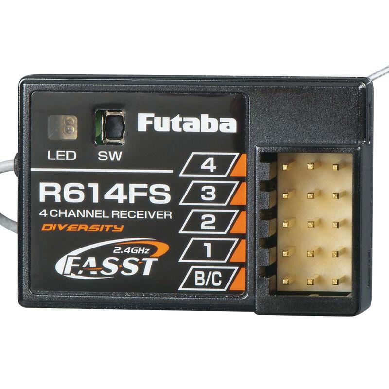 R614FS 4-Channel FASST Receiver 4PKS