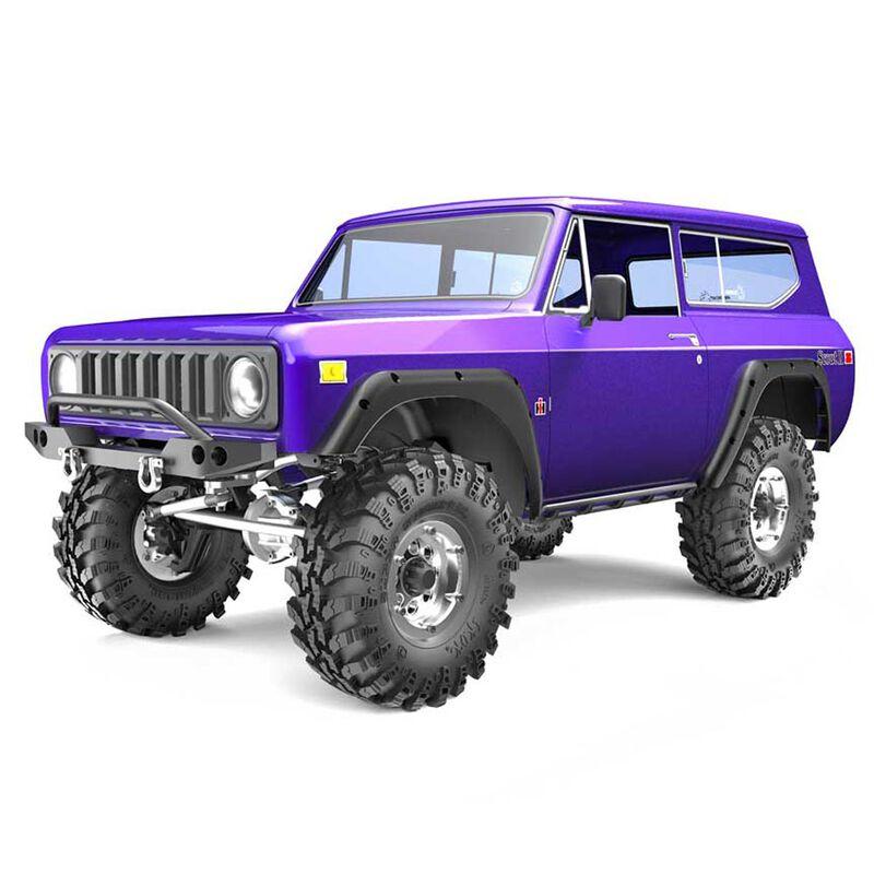 1/10 Gen8 V2 International Harvester Scout II Crawler RTR, Purple