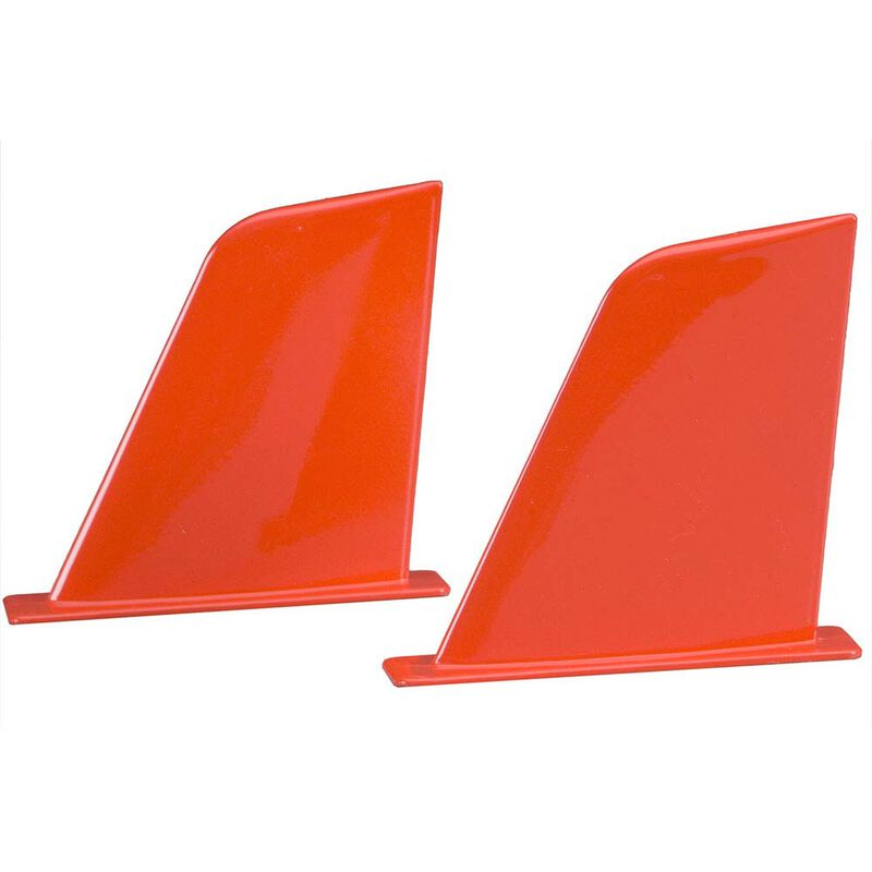 Vertical Fins, Red: UL-1 Superior