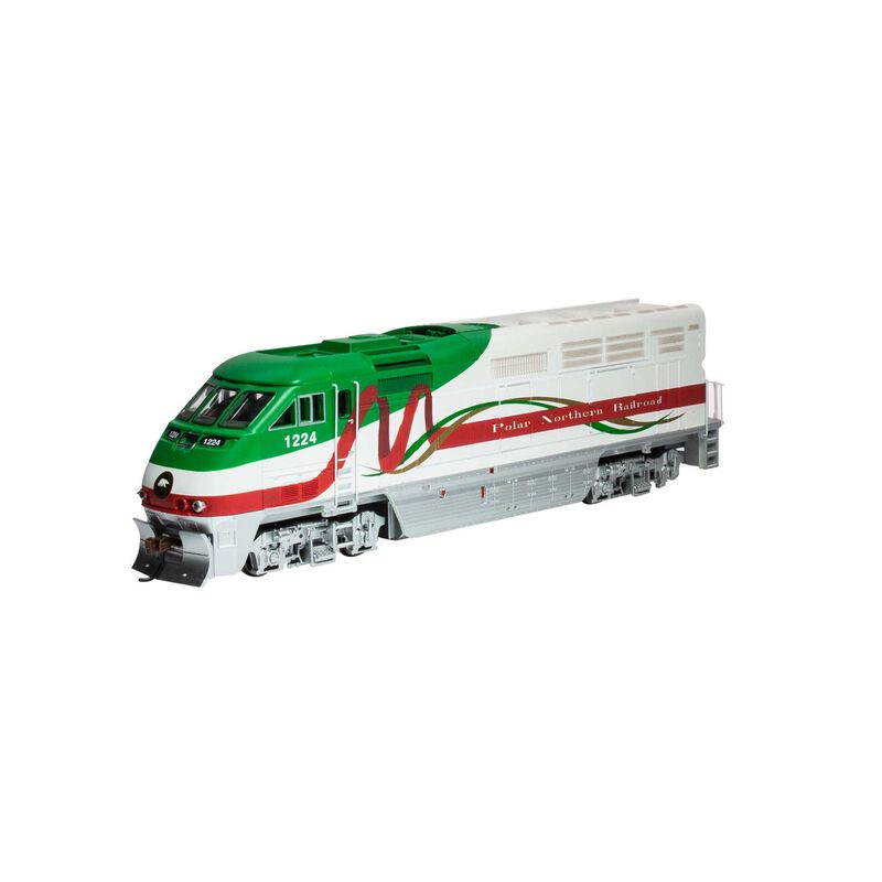 HO RTR F59PHI with DCC & Sound PNR Christmas #1224