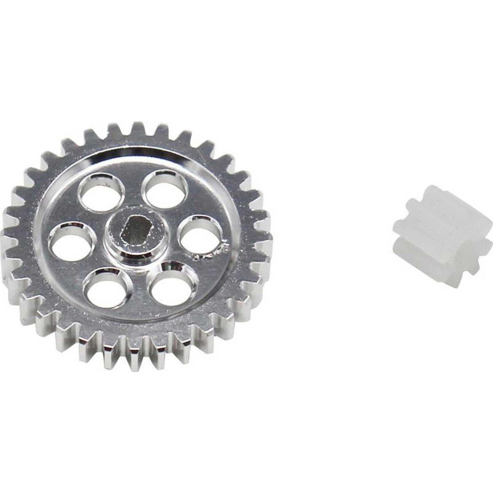 0.5M Spur Gear Conversion: Axial SCX24