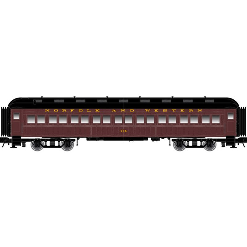N Trainman 60' Coach N&W #711