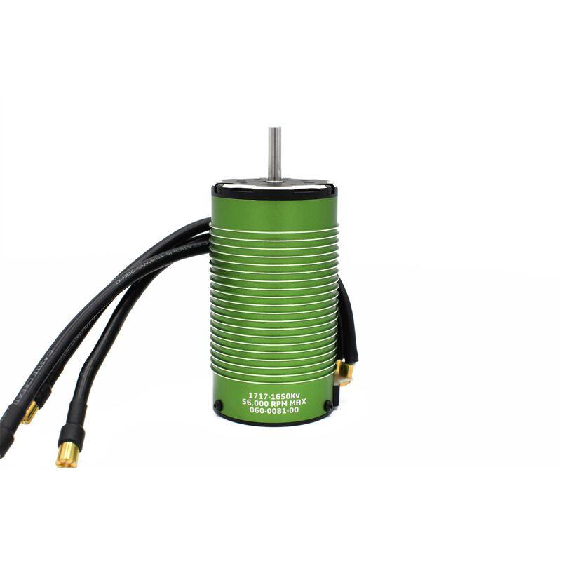 4 Pole Sensored Brushless Motor, 1717-1650Kv