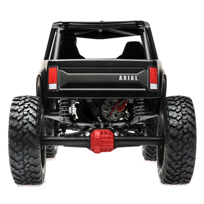 1/10 Wraith 1.9 4WD Rock Crawler Brushed RTR, Black