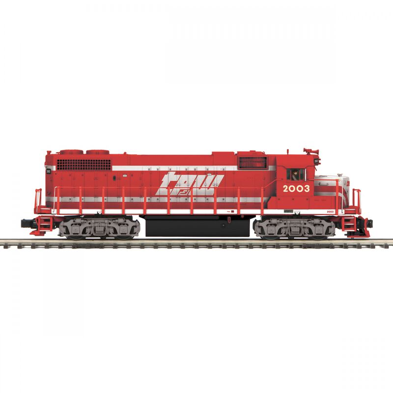 O GP38-2 with PS3 TP&W #2002