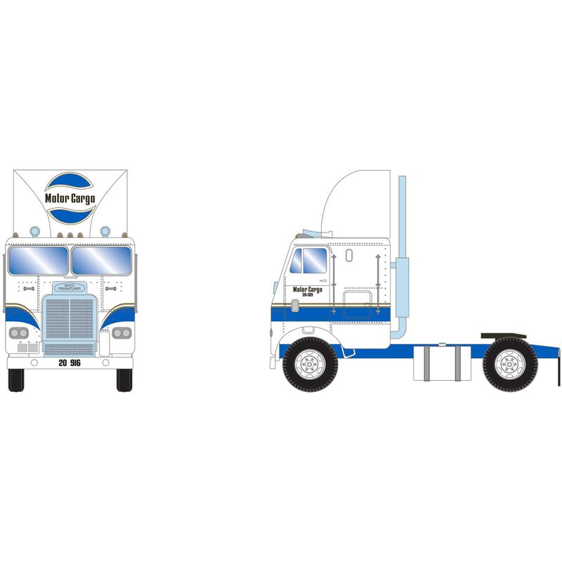 HO RTR FL with 2 Axle Motor Cargo