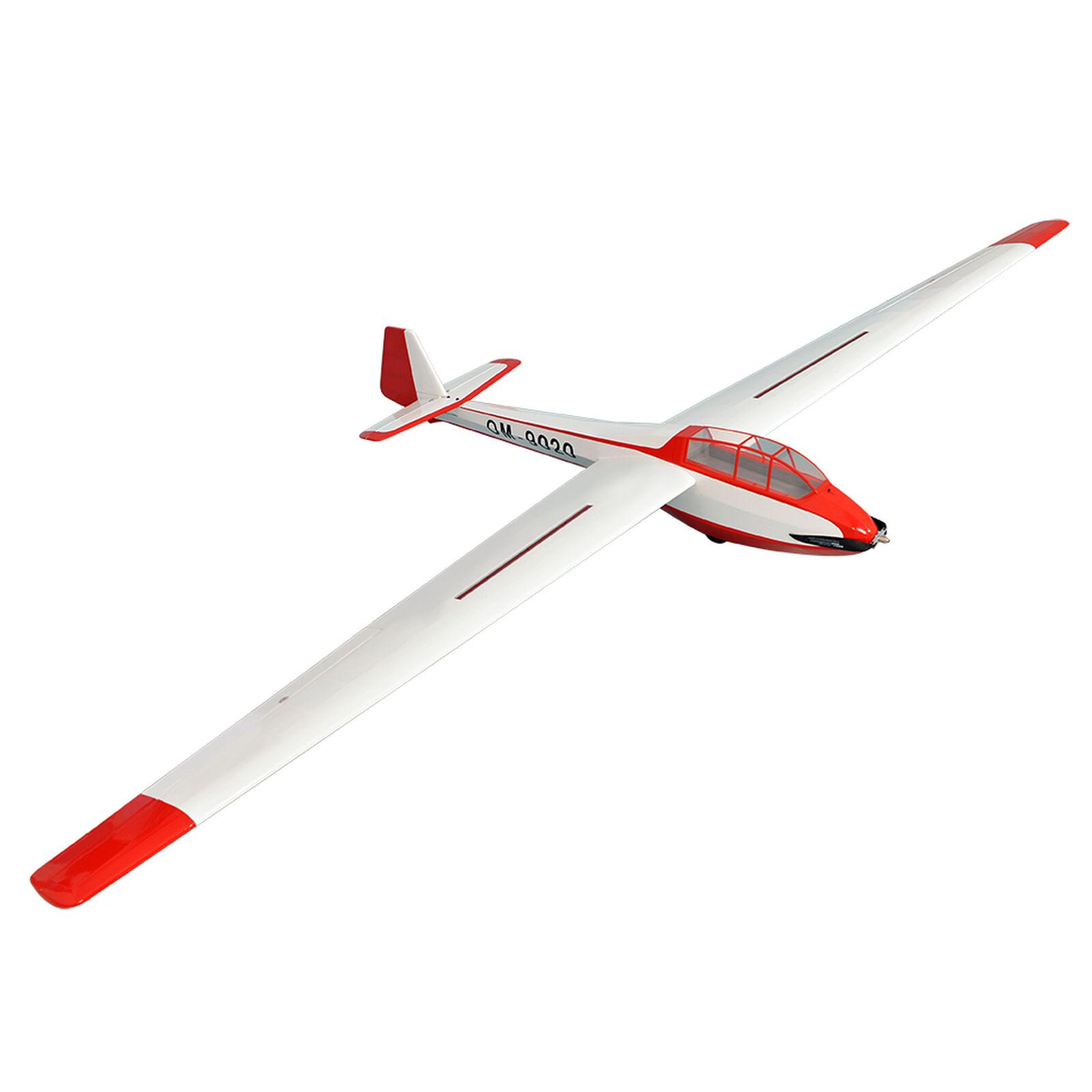 """Bergfalke 3.3m EP Glider ARF 129.9"""""""