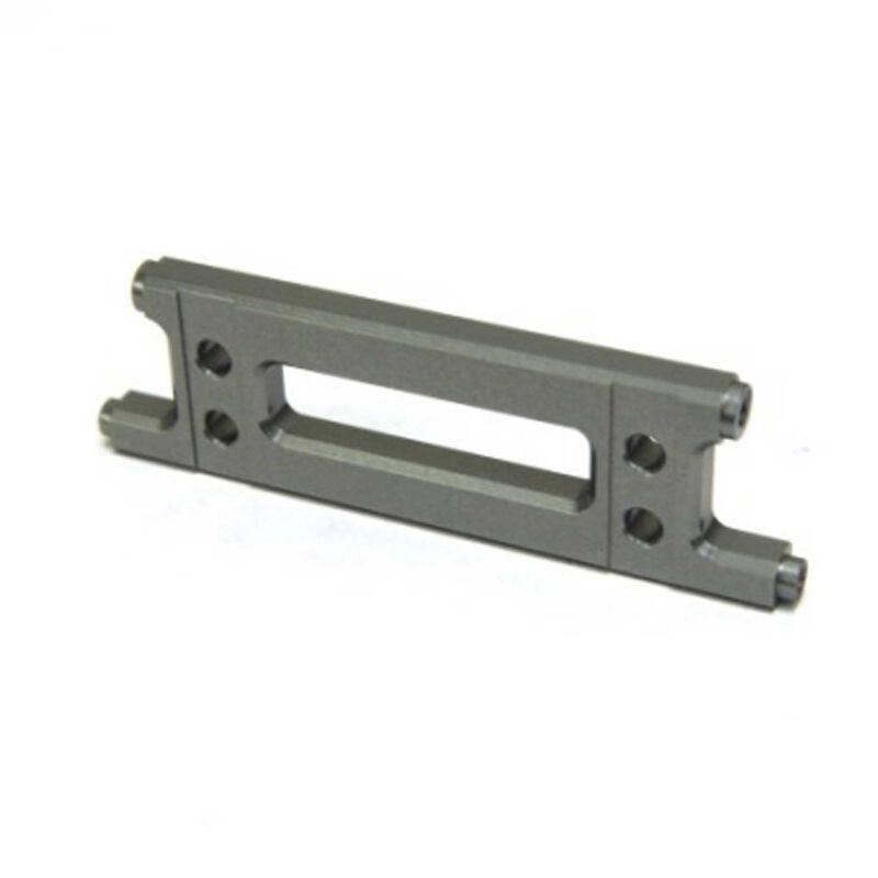 Aluminum HD Rear Cage Stiffner, Gun Metal: Yeti