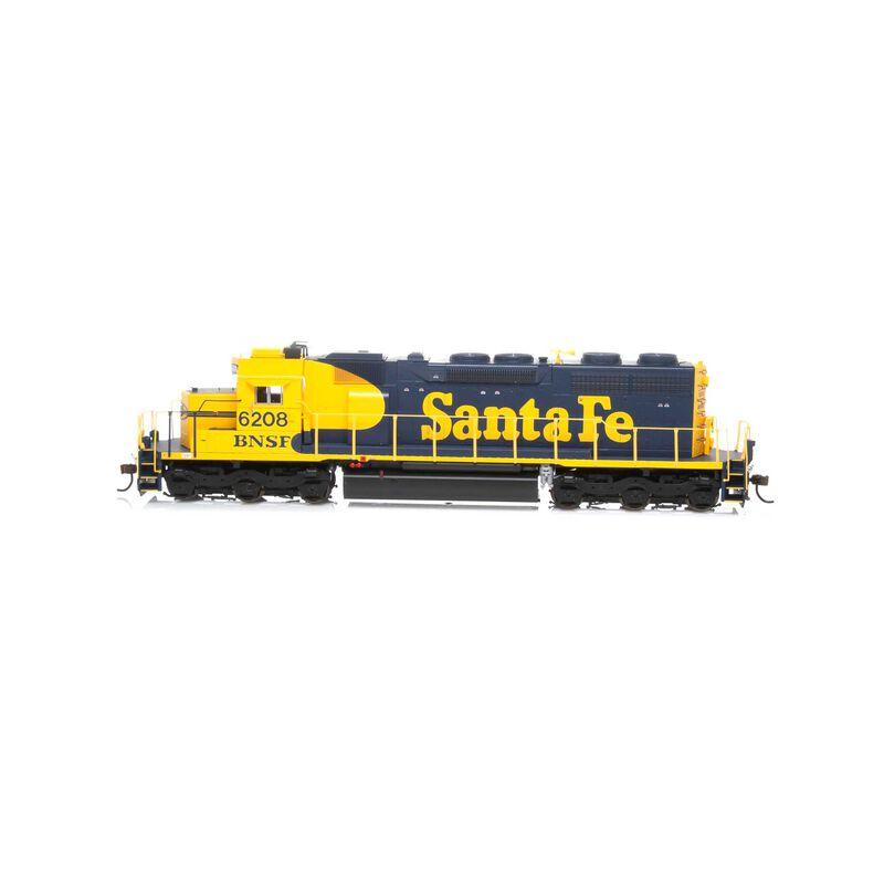 HO RTR SD39 BNSF #6208