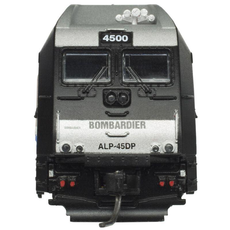 N ALP-45DP w DCC & Sound Bombardier #4500