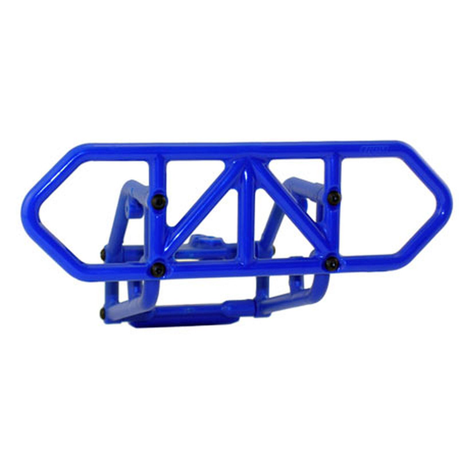 Rear Bumper, Blue: SLH 4x4
