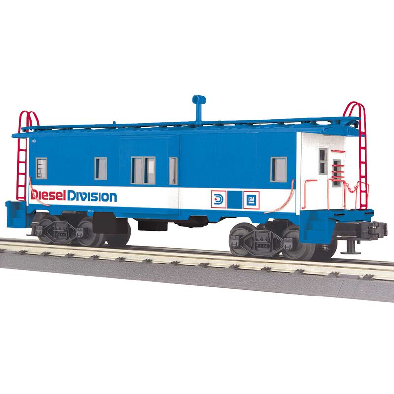 O-27 Bay Window Caboose GM Diesel Division