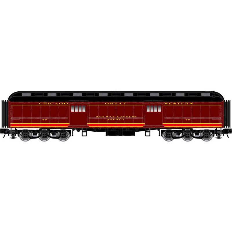 N Trainman 60' Baggage Car CGW #47