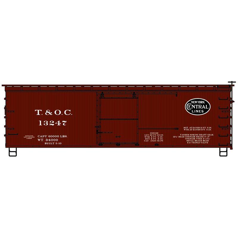 HO KIT 36' Double Sheath Box T&OC