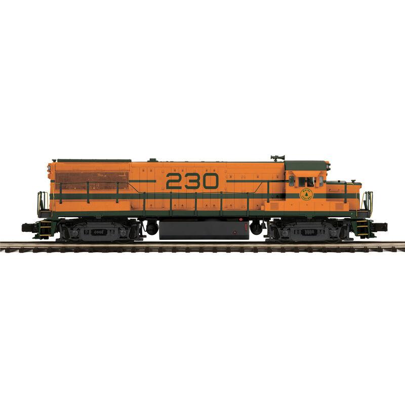 O Hi-Rail U25B w PS3 MEC #230