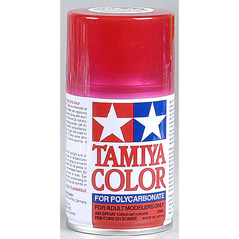 Polycarbonate PS-37 Translucent Red, Spray 100 ml