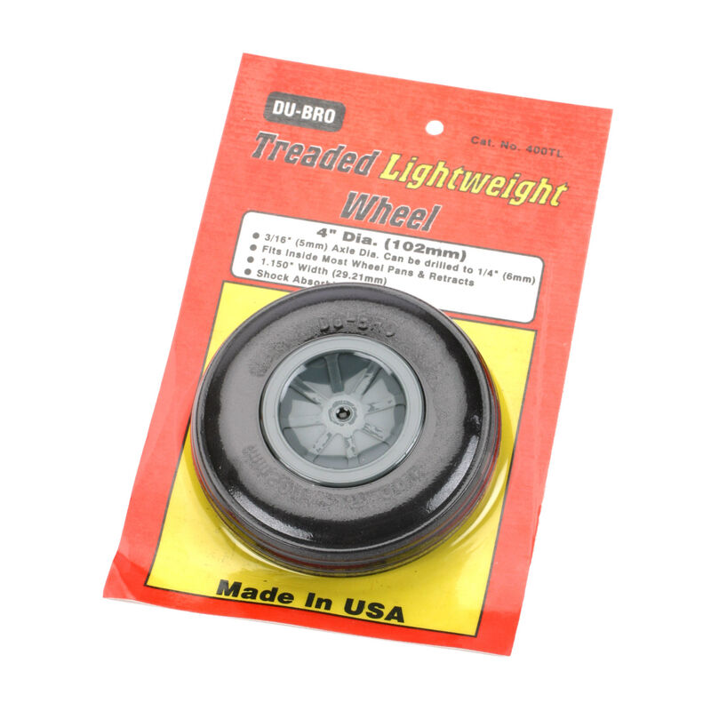 "Treaded Lite Wheel, 4"" (1)"