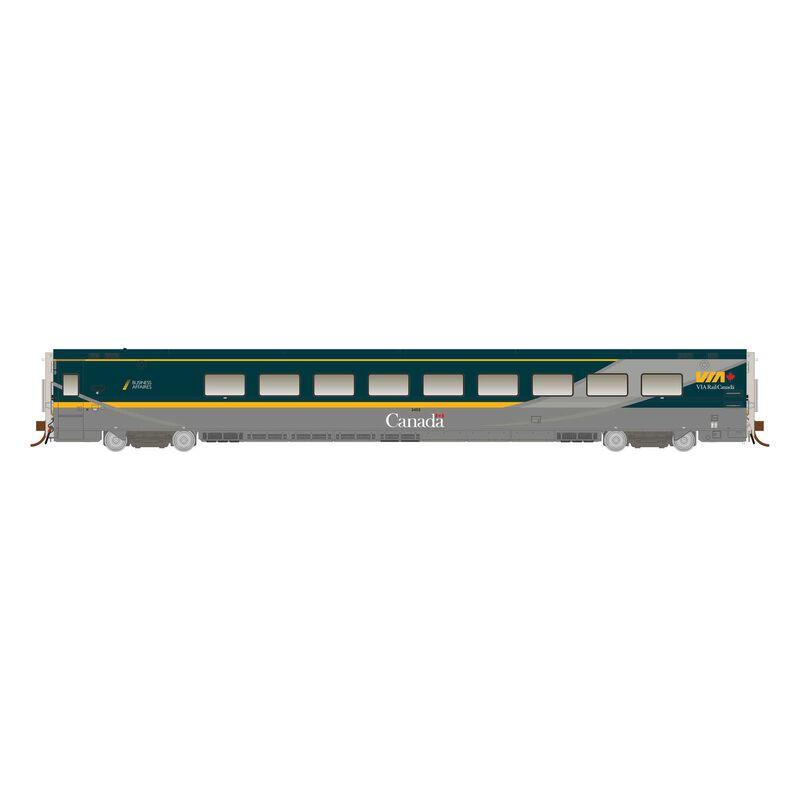 N Scale LRC Business Class, Undecorated