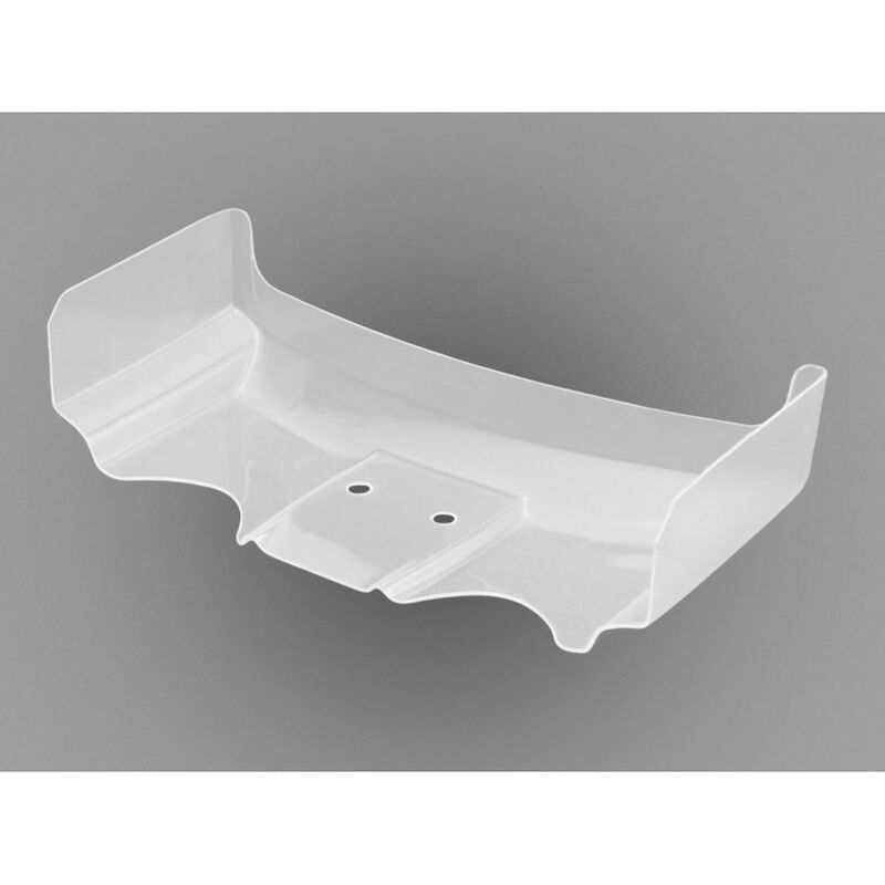 """1/10 Hi-Clearance Pre-Trimmed 6.5"""" Clear Wing: RC10B5"""