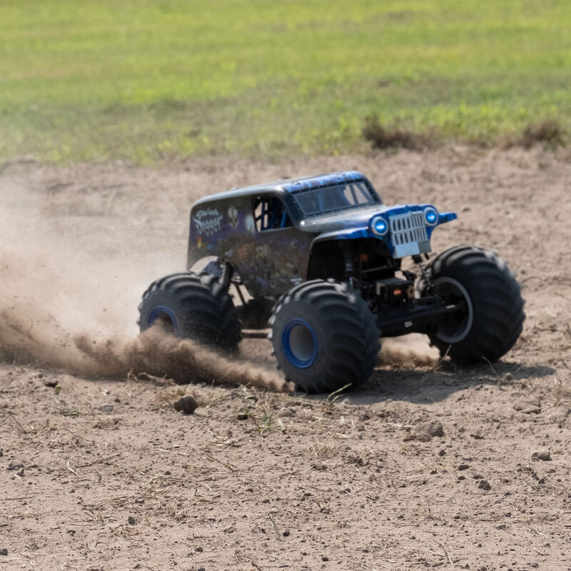 LMT 4WD Solid Axle Monster Truck RTR, Son-uva Digger