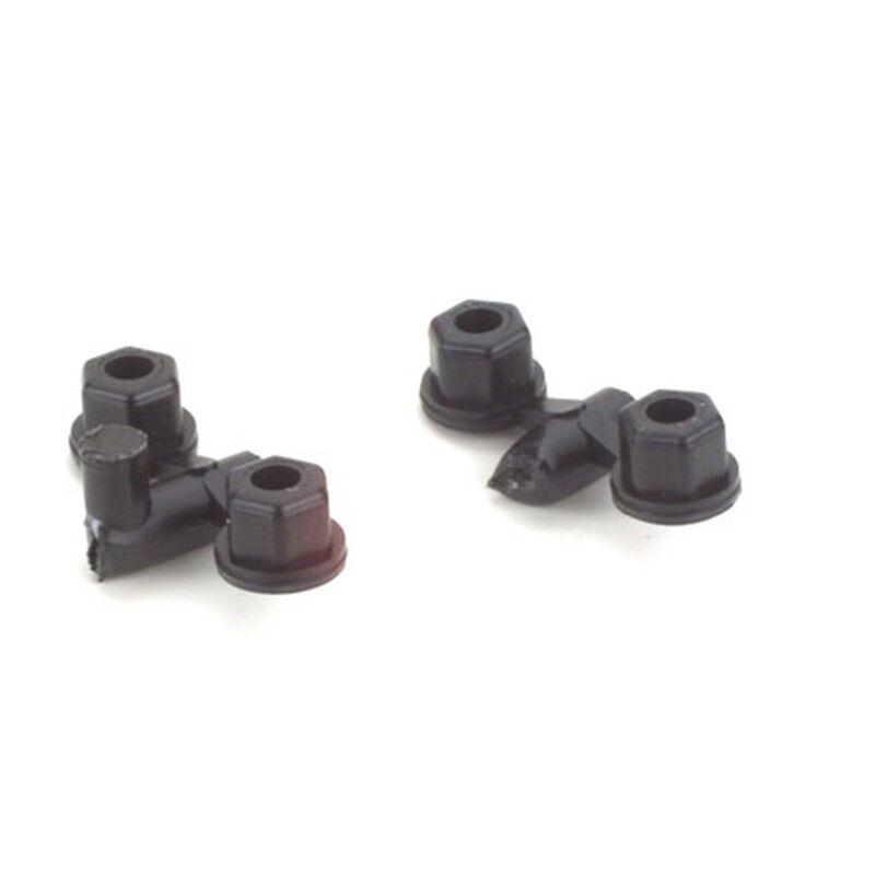 Locknuts, 4-40/5-40, Plastic (4)