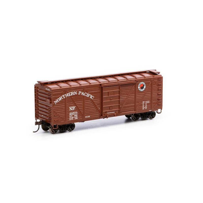 HO 40' Ribbed Wooden Box NP #28578