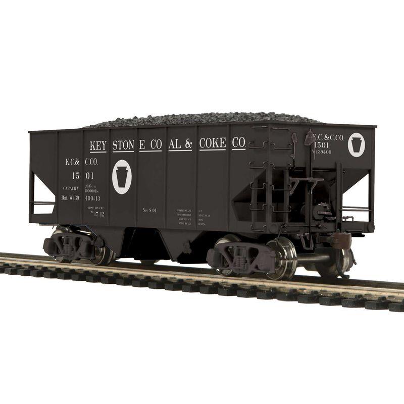 HO USRA 55-Ton Steel Twin Hopper Keystone #1501