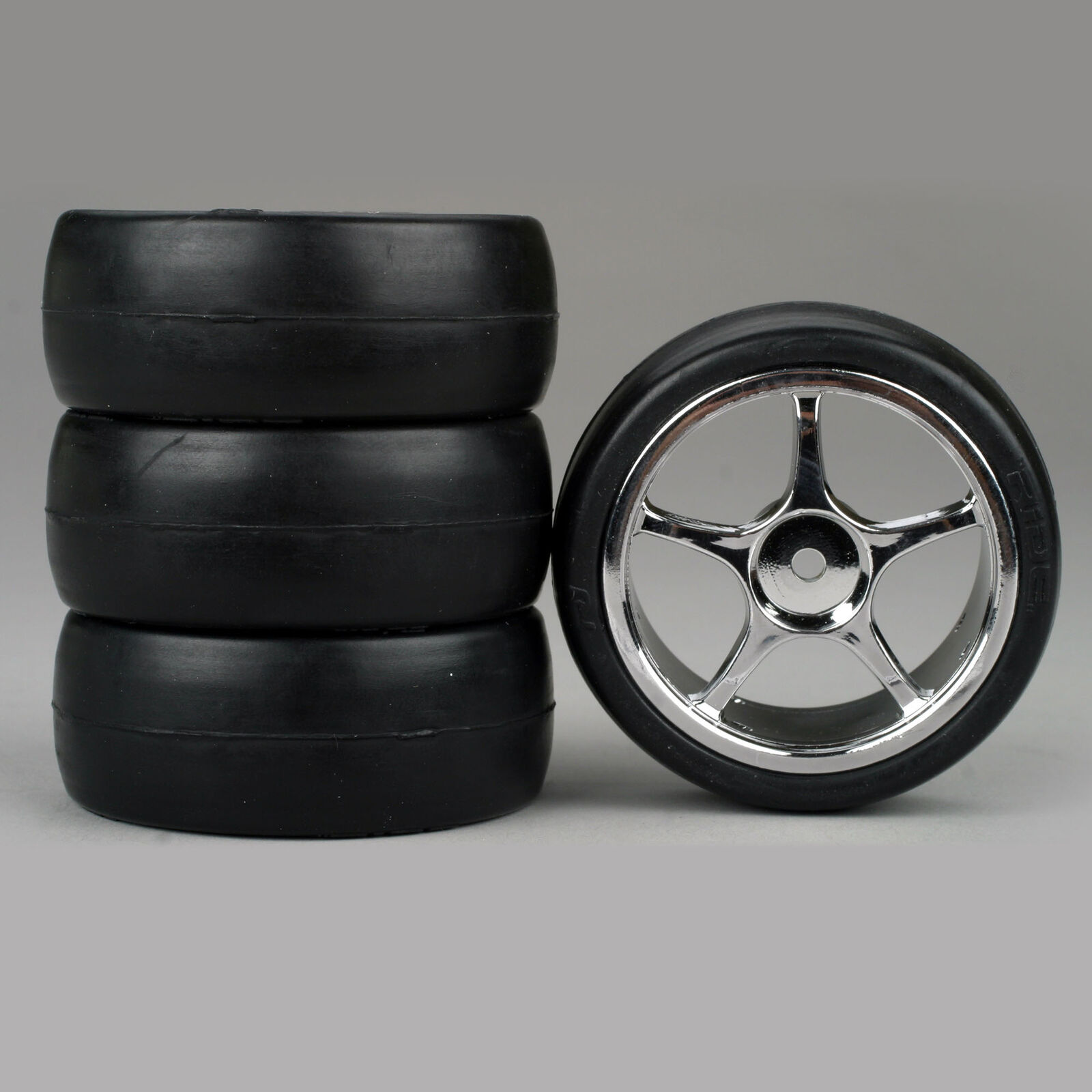 5-Spoke Chrome Wheel, Slick (4)