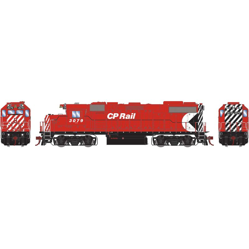 HO GP38-2 GMD with DCC & Sound CPR #3079