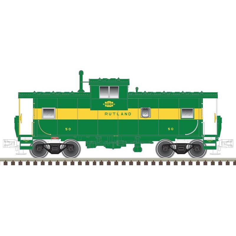 HO Extended Vision Caboose RUT #51