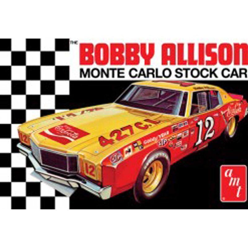 1972 Monte Carlo Stock Car Coca Cola Bobby Allison