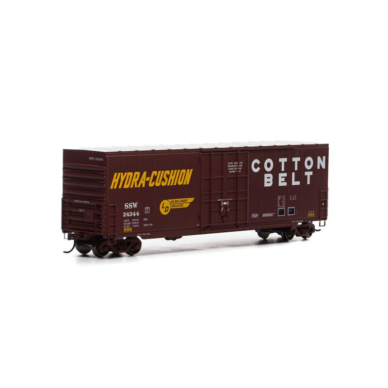 HO 50' Smooth High Cube Plug Door Box, SSW #24344